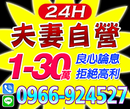 【良心論息 夫妻自營】家庭式 24H | 1-30萬 拒絕高利【速交貸】
