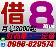 【快速24H】好商量一定借 | 8萬內 民間信用借款【速交貸】